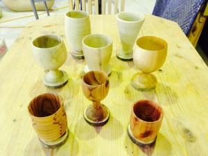木の器(グラス)